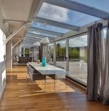 Cuisine Dans Veranda Rénovation Zen Maison Typique Années 70 Agence Architecte Intérieur