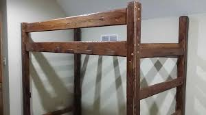Rustic Bunk Bed Plans Twin Over Full by Log Bunk Bed Plans Bedroom Ideas Decor