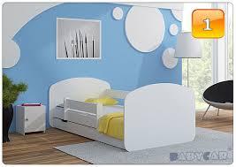 toddler children kids bed 140x70 or 160x80 with mattress drawer