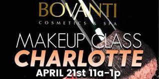 makeup classes in nc bovanti makeup class nc tickets sat feb 24 2018 at