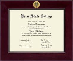 college diploma frame peru state college century gold engraved diploma frame in cordova