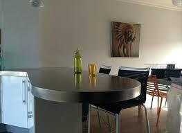 table cuisine sur mesure cuisine inox table sur pied table murale