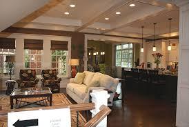open plan kitchen dining living room designs custom dining room