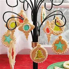 stained glass cookie ornaments recipe taste of home