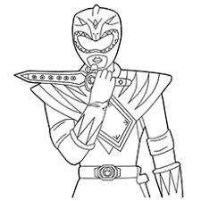 green coloring page top 35 free printable power rangers coloring pages online