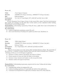 Sample Resume For Manual Testing Professional Of 2 Yr Experience by Sample Resume For Year Experienced Software Engineer Cipanewsletter