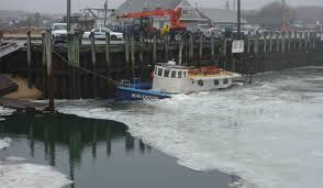 wellfleet naviator sunk by ice