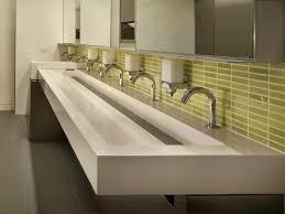 kohler commercial bathroom sinks commercial bathroom sink commercial stainless steel trough sinks