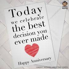 Anniversary Cards And Stationery Ebay Husband Anniversary Card Ebay