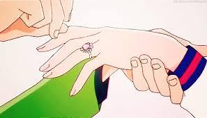 anime wedding ring serena and darien images serena darien wedding ring wallpaper