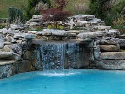best pool waterfalls ideas for your swimming pool homemade