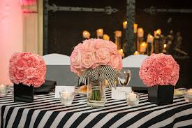 april wedding colors black white and pink summer wedding april ben wedding colors