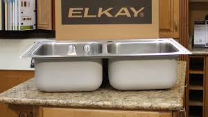 how to unstop a kitchen sink elkay magna double stainless steel kitchen sink with accessories