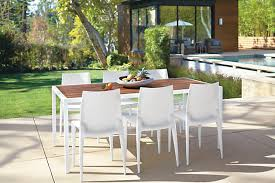 ikea outdoor dining table wood top white metal frame outdoor dining table design notations