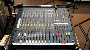 Sound Desk Sound Equipment Mixing Desk Sound Control Unit Stock
