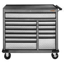 husky 41 in 16 drawer tool chest and rolling tool cabinet set