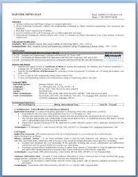 Student Resume Outline For First Job My First Resume Career Faqs  Chronological Resume College Of Social