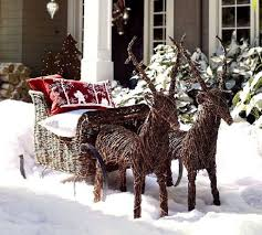 Christmas Decorations Outdoor Ideas - 61 best santa sleigh and reindeer outdoor decoration images on