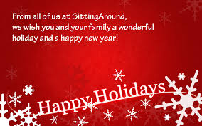 from all of us at sitting around we wish you and your family a