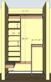 free woodworking plans for a deep coat closet includes ample shoe