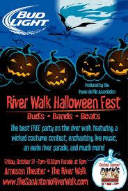 bud light river walk halloween haunt u0026 parade in san antonio at the