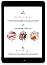 22 inspirational christmas html email templates