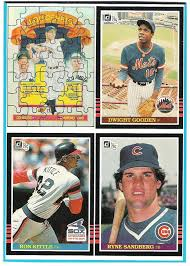 the fleer sticker project 1985 donruss box bottom panel