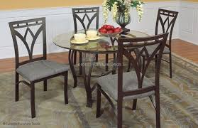 Glass And Metal Kitchen Table With  Chairs Furniture Deals - The kitchen table toronto