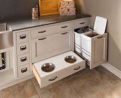 pet room ideas food storage ideas laundry room transitional with pet bowls pet