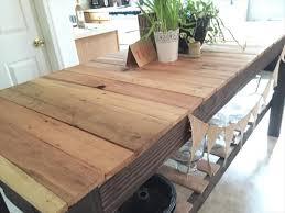 Sturdy Table Diy Sturdy Pallet Kitchen Island Table 101 Pallets