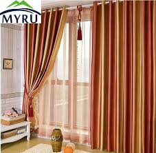 Orange And Brown Curtains Myru Upscale Living Room Colorful Curtains Green Purple Brown