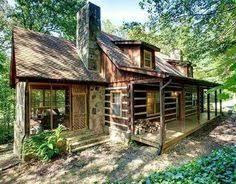 Small Cabins Small Cabin Home Make Mine Rustic Pinterest Cabin Log