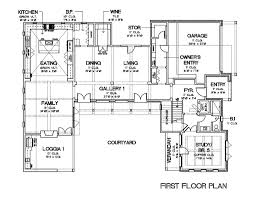 Courtyard Style House Plans by European Style House Plan 5 Beds 5 00 Baths 5159 Sq Ft Plan 449 22