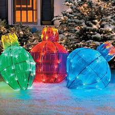 outdoor lighted ornaments rainforest islands ferry