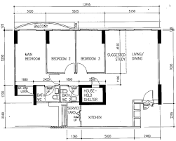 Hdb Flat Floor Plan by The Little Home On The Waterway Reno T Blog Chat Renotalk Com