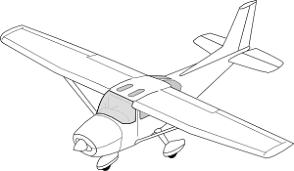 plane clip art at clker com vector clip art online royalty free