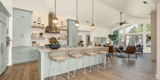 fixer blue kitchen cabinets joanna gaines shares favorite cozy kitchen color