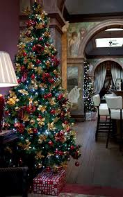 White Christmas Tree Decorations Ireland by Darley U0027s Travel Blog Castle Leslie Christmas In Ireland