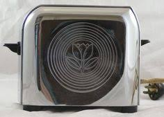 Toastess Toaster Vintage Two Slice Toaster Retro Kitchen Electric Toaster 1950s