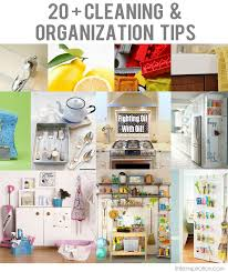 cleaning ideas 20 cleaning organization tips little inspiration
