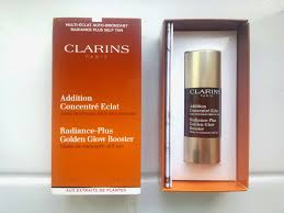 cee jay ell october 2014 clarins radiance plus golden glow booster
