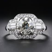 front view vintage burmese sapphire diamond ring berganza hatton