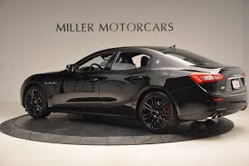 maserati ghibli body kit 2017 maserati ghibli nerissimo edition s q4 stock m1898 for sale