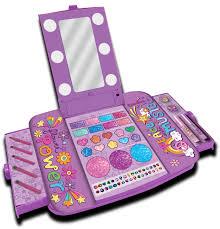 Little Girls Vanity Playset Townley Light Up Cosmetic Vanity