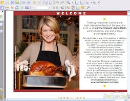 free martha stewarts thanksgiving recipes cookbook