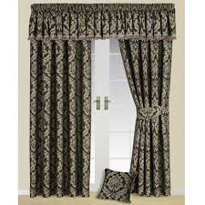Black And Gold Damask Curtains by Damask Curtains Uk Savae Org