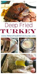 how to fry a turkey recipe fry turkey herb butter