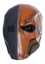 death stroke deluxe mask batman arkham origins escapade uk