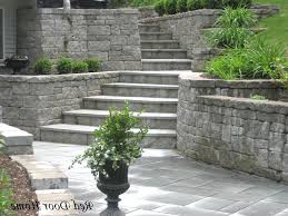 basement walkout backyard landscape ideas walkout basement the garden inspirations
