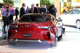 lexus lf lc hybrid concept detroit this car stole the show stark insider